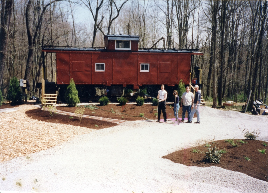 The Hocking Hills Caboose - A unique cabin experience in the heart